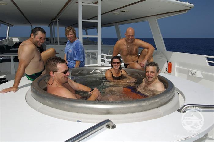 Jacuzzi - Turks and Caicos Aggressor II