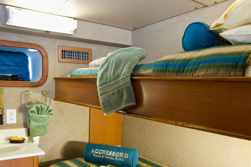 Twin Cabin - Turks and Caicos Aggressor II