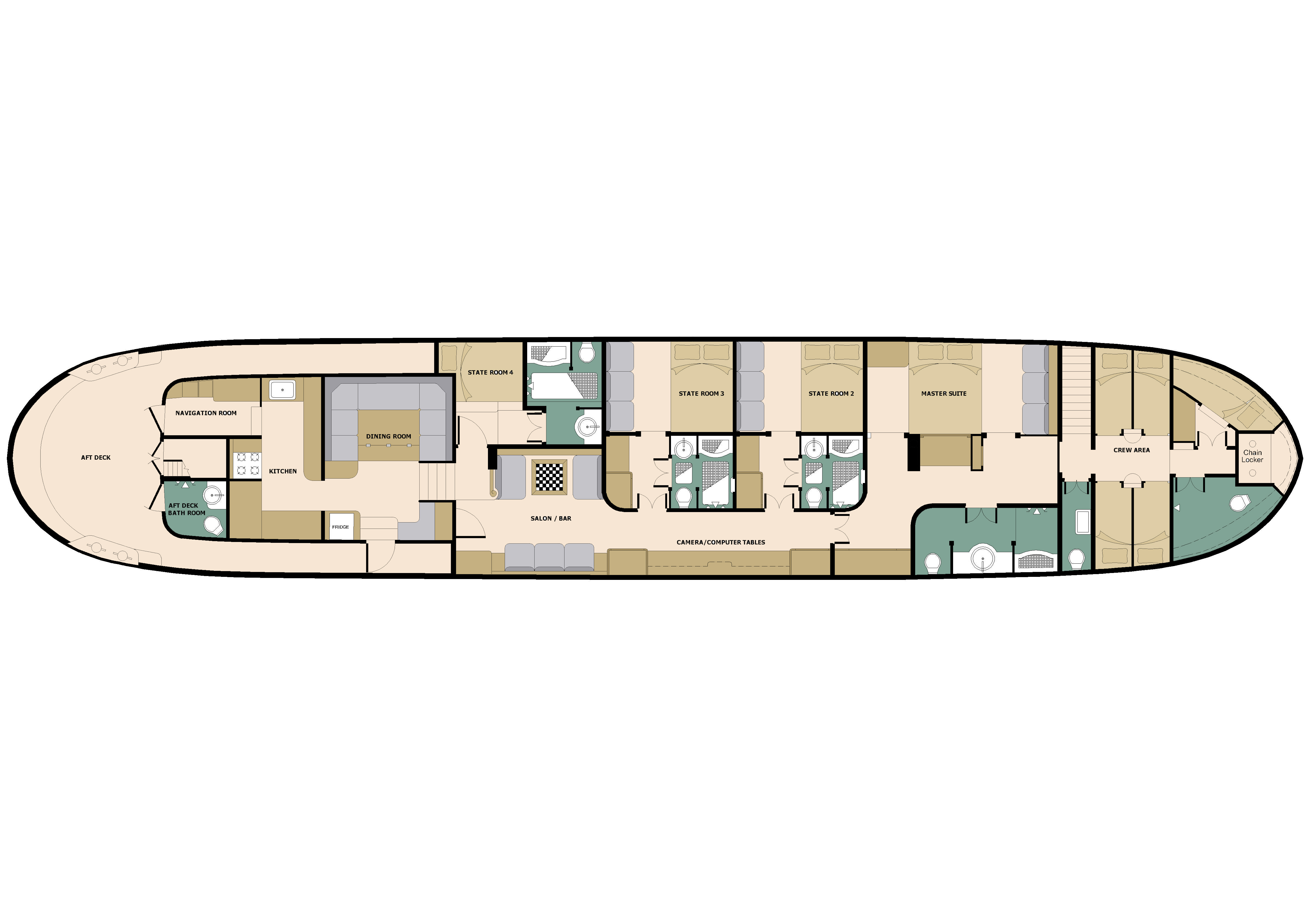 Adelaar Deck Plan floorplan