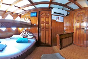 Standard Single Bed Cabin Upper Deck