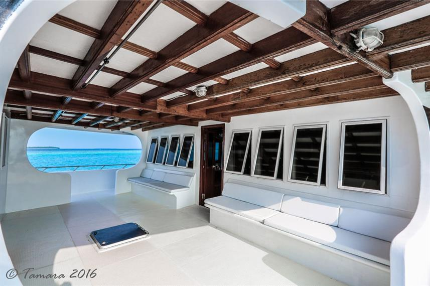 Outdoor Lounge - Amba Liveaboard