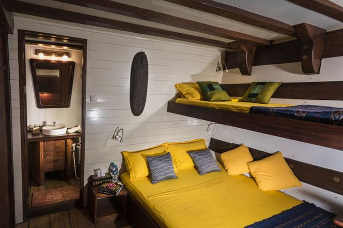 Lower Deck Cabin 4 - Ambai Liveaboard