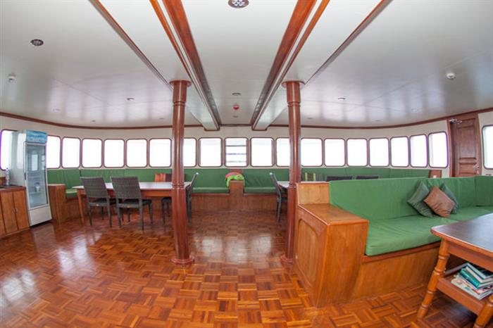 Indoor Lounge - MV Carpe Vita Liveaboard