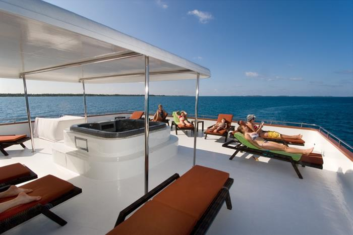 Sun deck - MV Carpe Vita Maldives