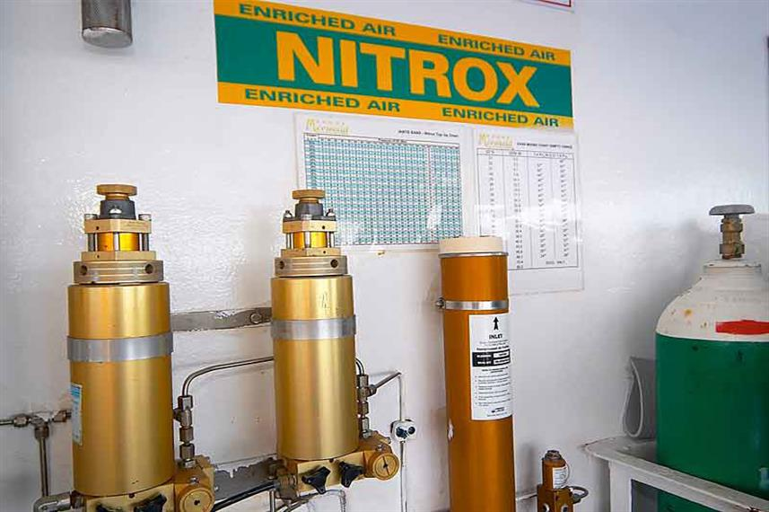 Nitrox availalbe on board