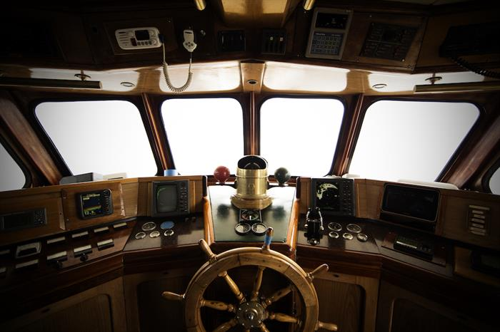 Captains Helm - Solmar V