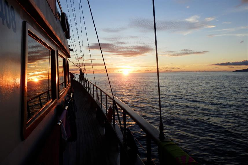 Sunset Views  - Galatea Live Aboard