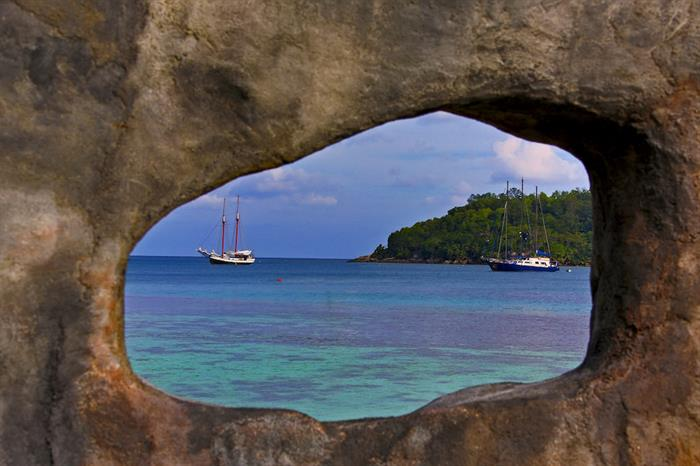 Amazing views in the Seychelles - Sea Star Liveaboard