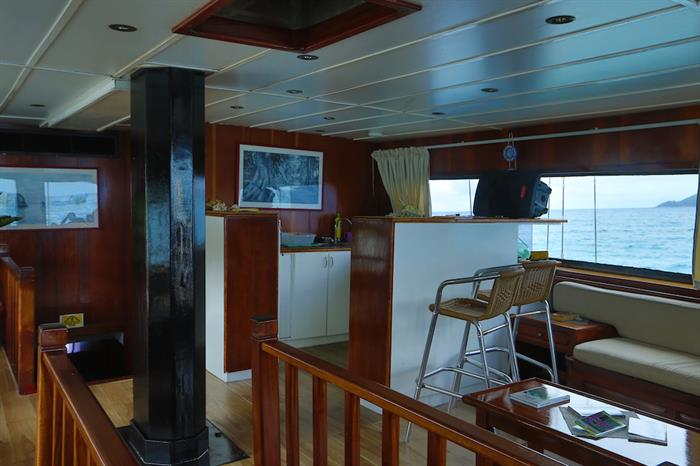 Dining Room - Sea Star Live Aboard