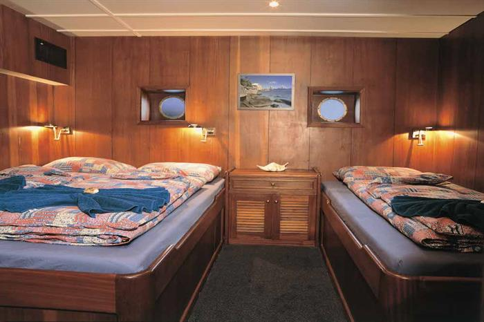 Triple Cabin - Sea Star Live Aboard