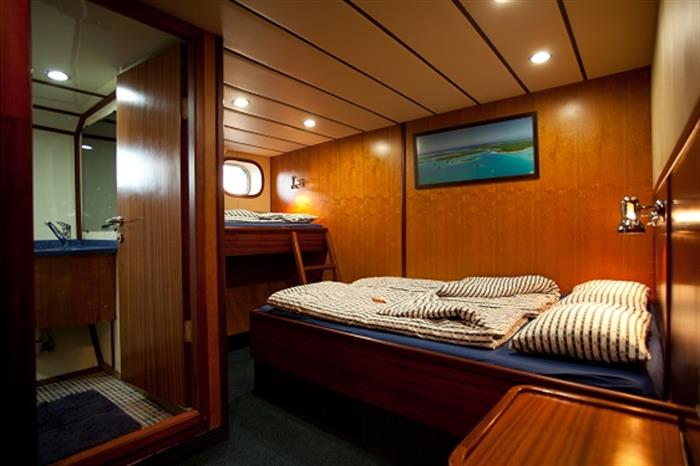 Triple cabin - Sea Bird Liveaboard