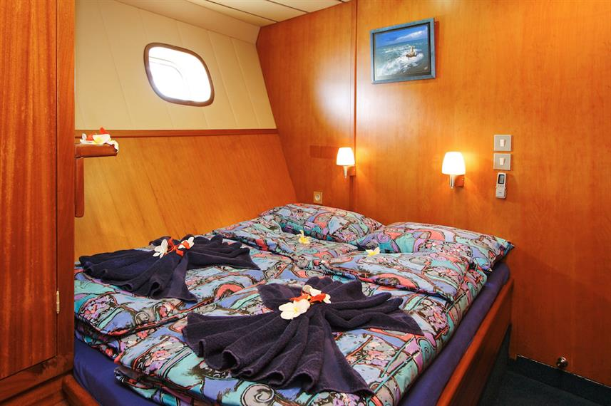 Double cabin - Sea Bird Liveaboard