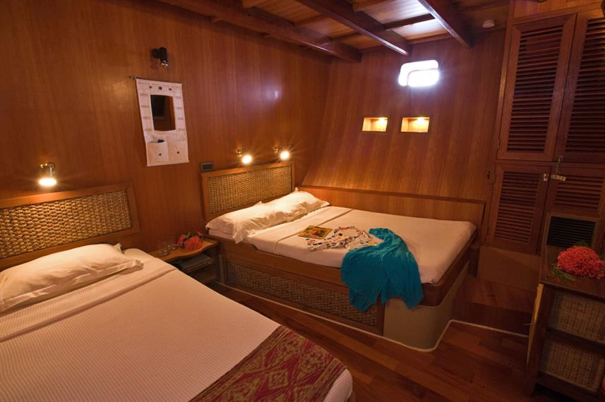 Lower Deck Cabin - Ocean Divine