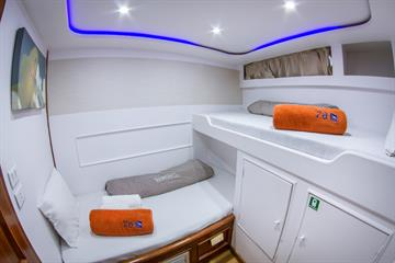 Lower Deck Bunk Cabins