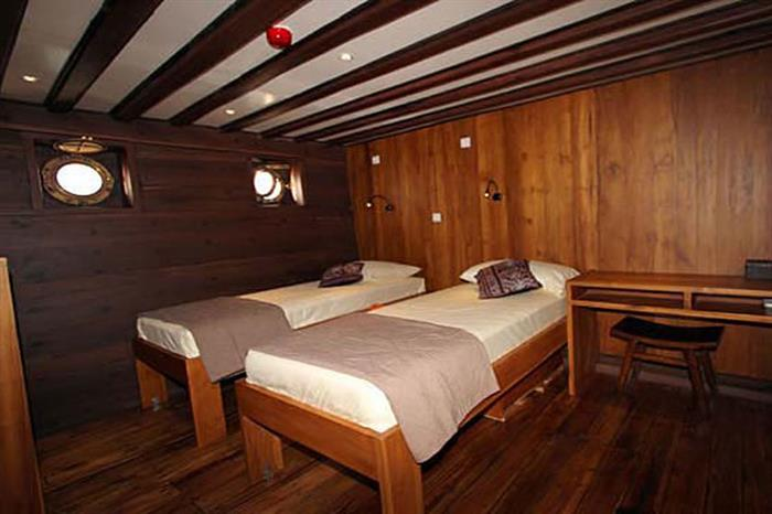 Double or twin cabin - Amira Liveaboard