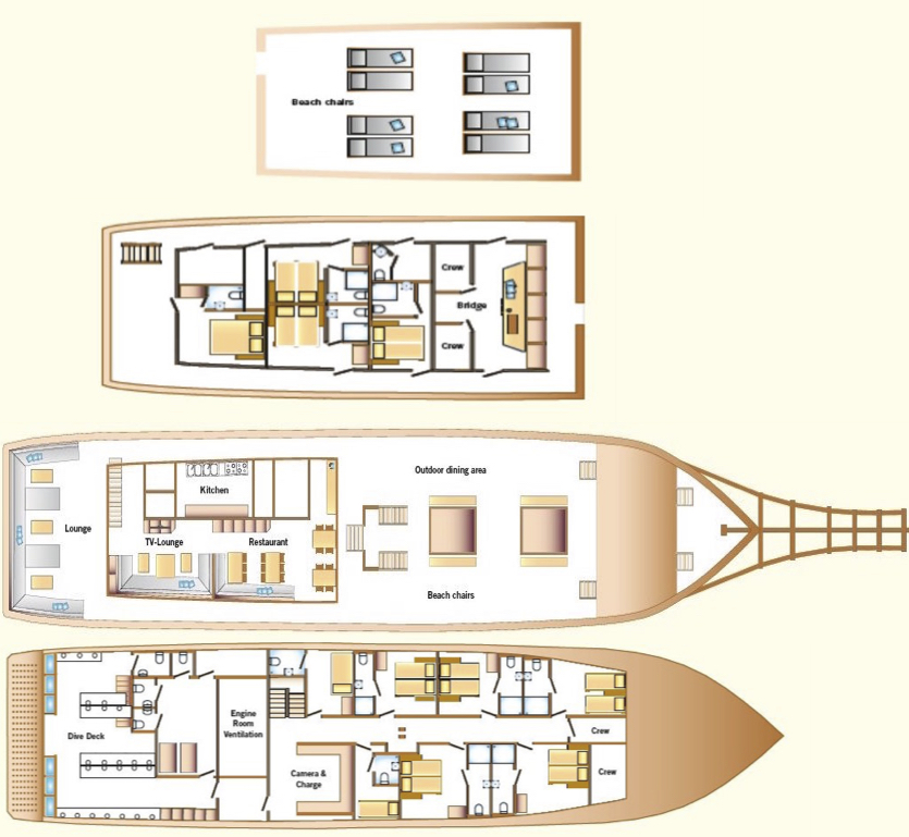 Amira Deck Plan floorplan