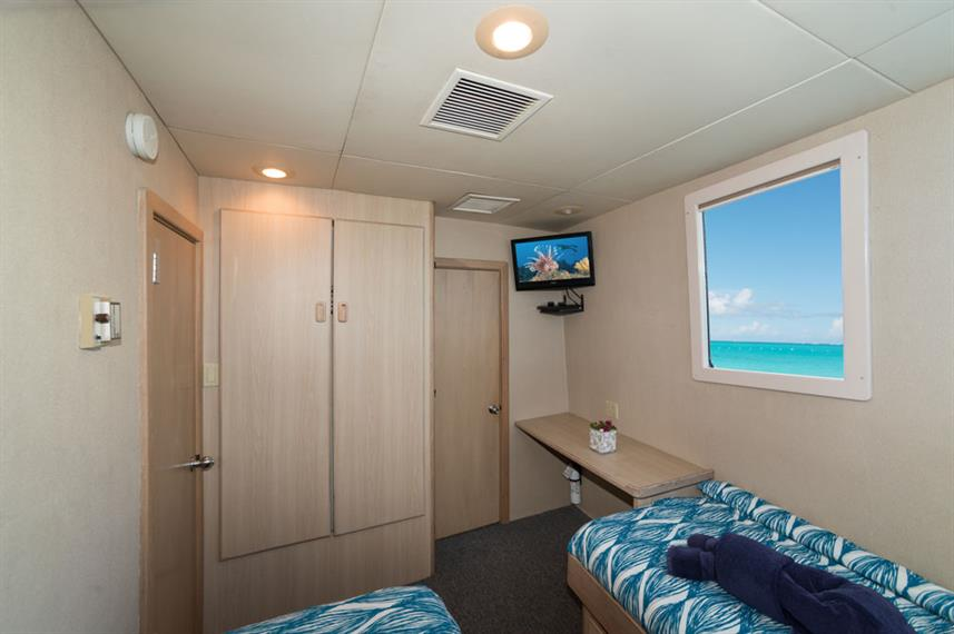 Cabine twin - Turks and Caicos Explorer