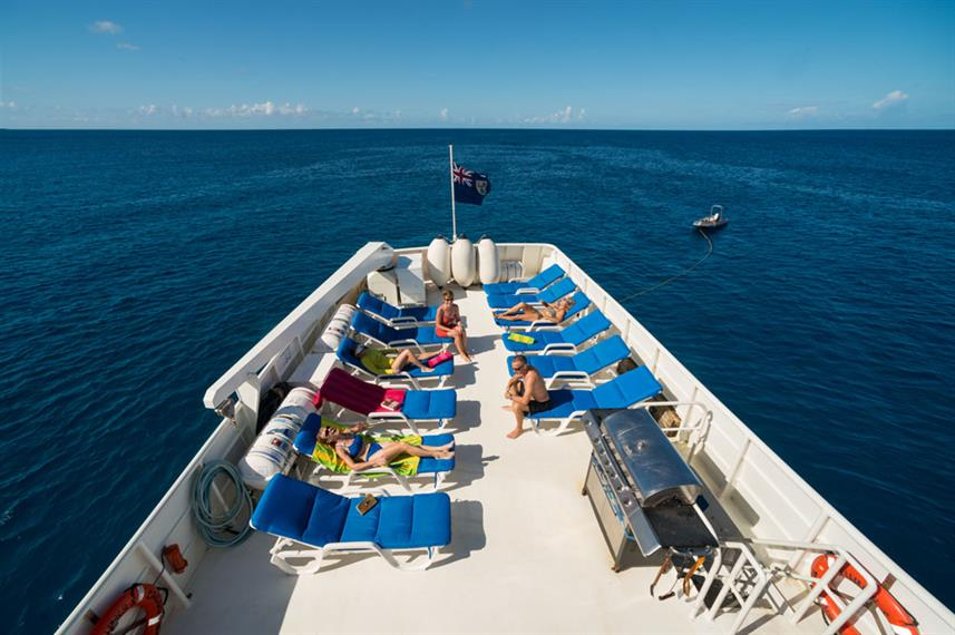 Sun Deck - Turks and Caicos Explorer
