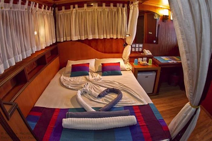 Double Cabin on Princess Dhonkamana