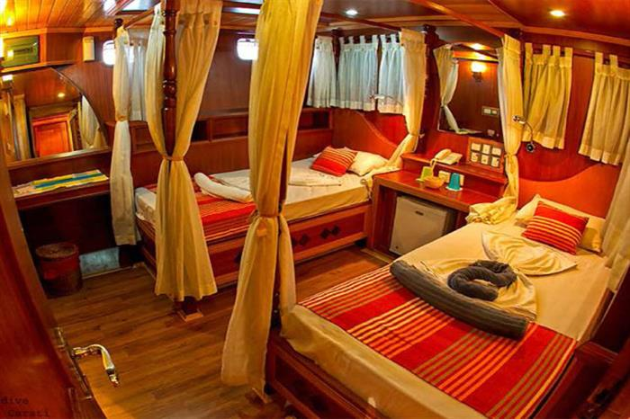 Twin Cabin - Princess Dhonkamana