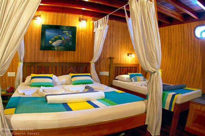 Triple Cabin - Princess Rani Maldives