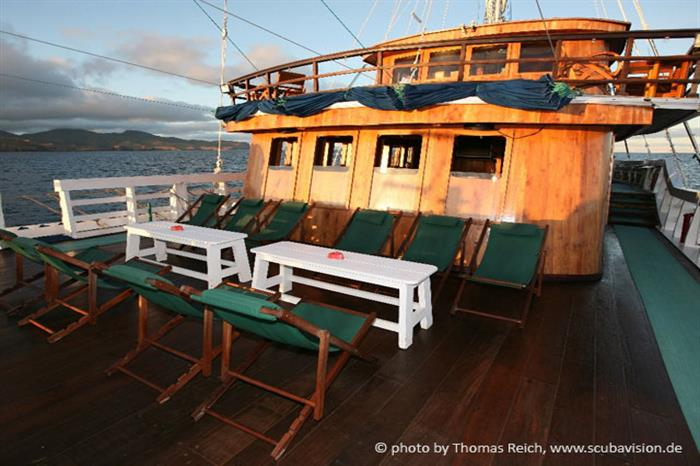 Outdoor relaxation - Pindito Liveaboard Komodo