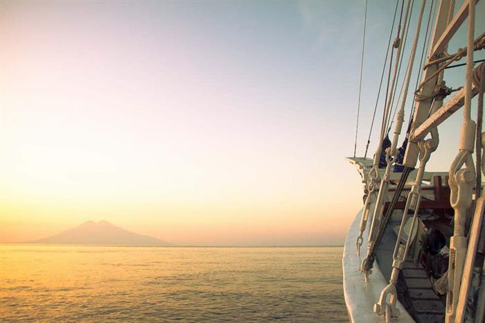 Adventures in Indonesia onboard Ombak Putih