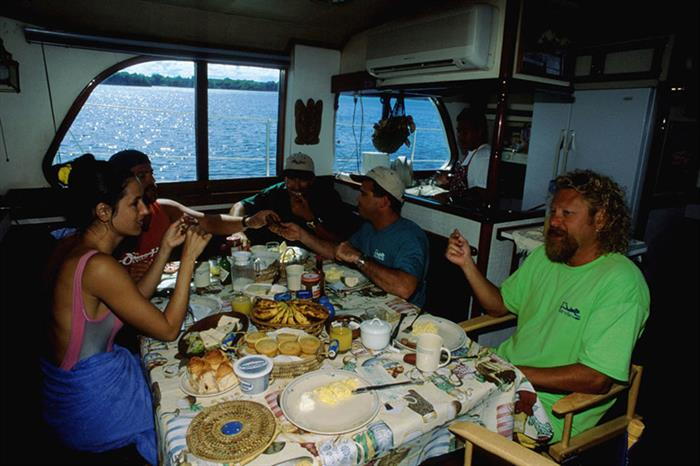 Dining Room - Ocean Hunter 1