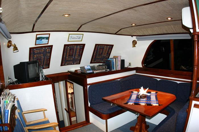 Indoor salon - Ocean Hunter 1