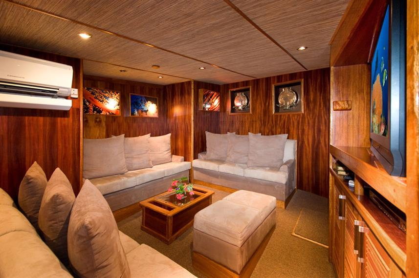 Air Conditioned saloon - Ocean Hunter 3