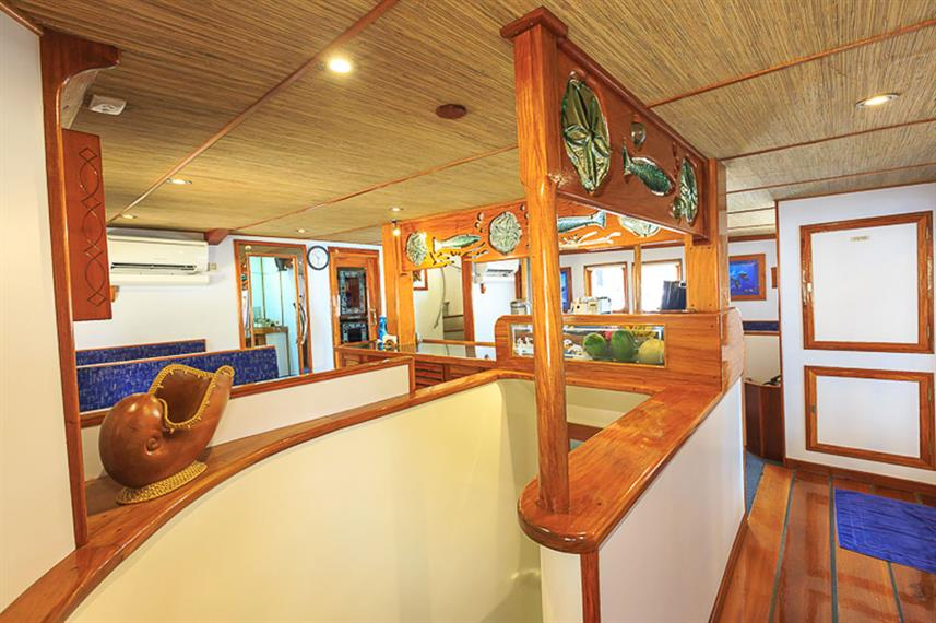 Área de Bar e Lounge - Ocean Hunter 3