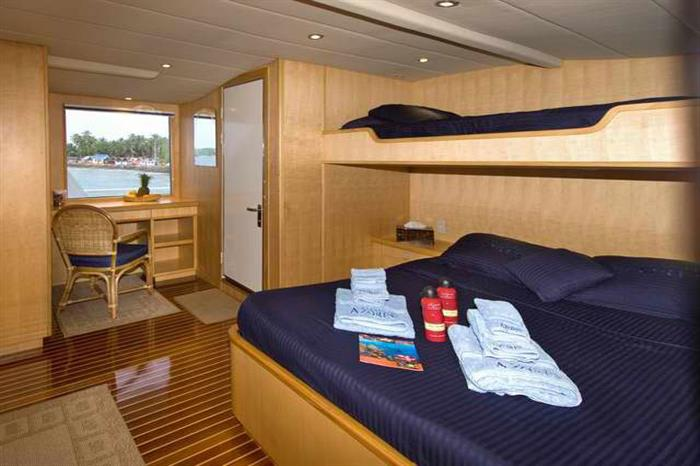 Suite aboard the Atlantis Azores