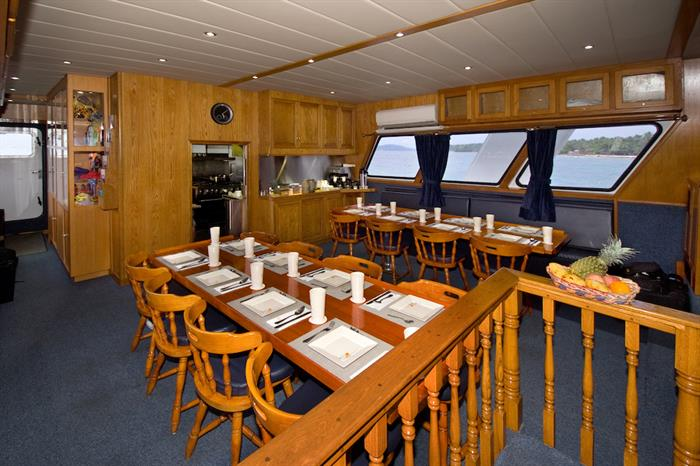 Indoor Dining Area - Atlantis Azores
