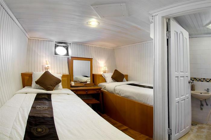 Lower deck cabin - Cheng Ho Liveaboard