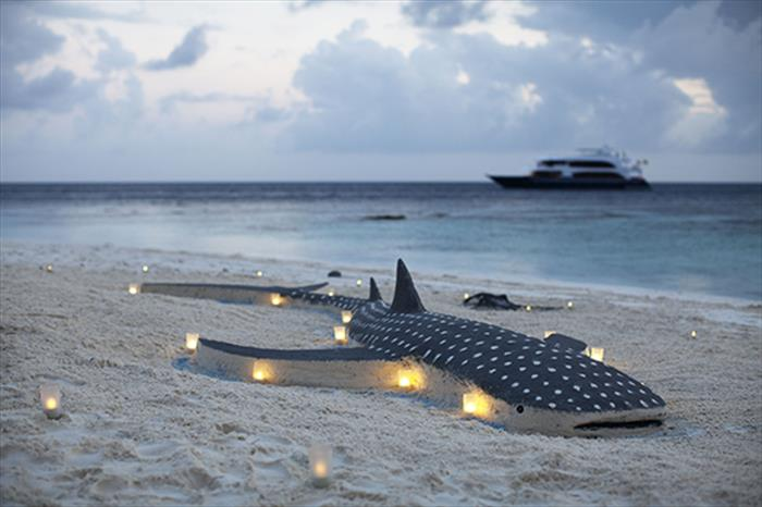 Amazing beaches and islands in the Maldives