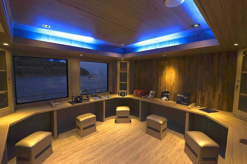 Dedicated camera room - Panunee Liveaboard
