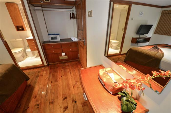 Spacious Cabins - Carpe Diem Liveaboard