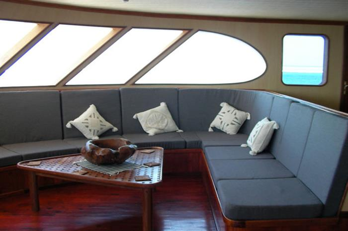 Lounge area - Carpe Diem Liveaboard