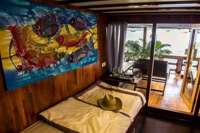 Master Cabin/Suite with terrace (shared) - Euphoria Liveaboard