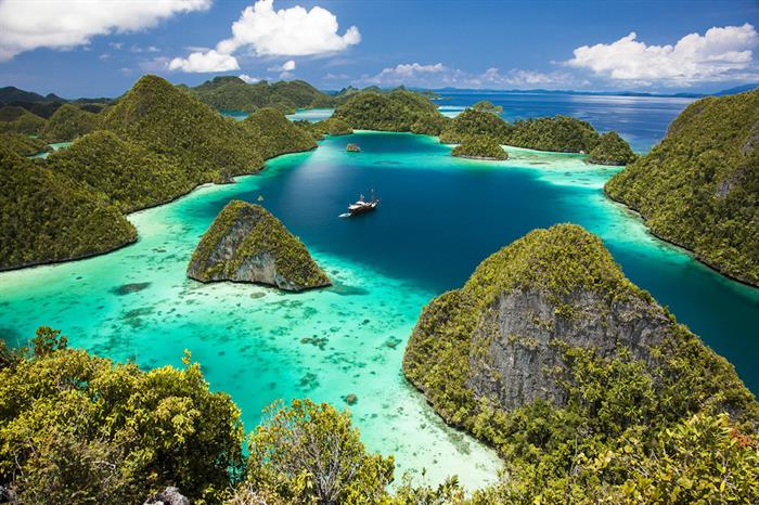 Explore the amazing waters of Indonesia