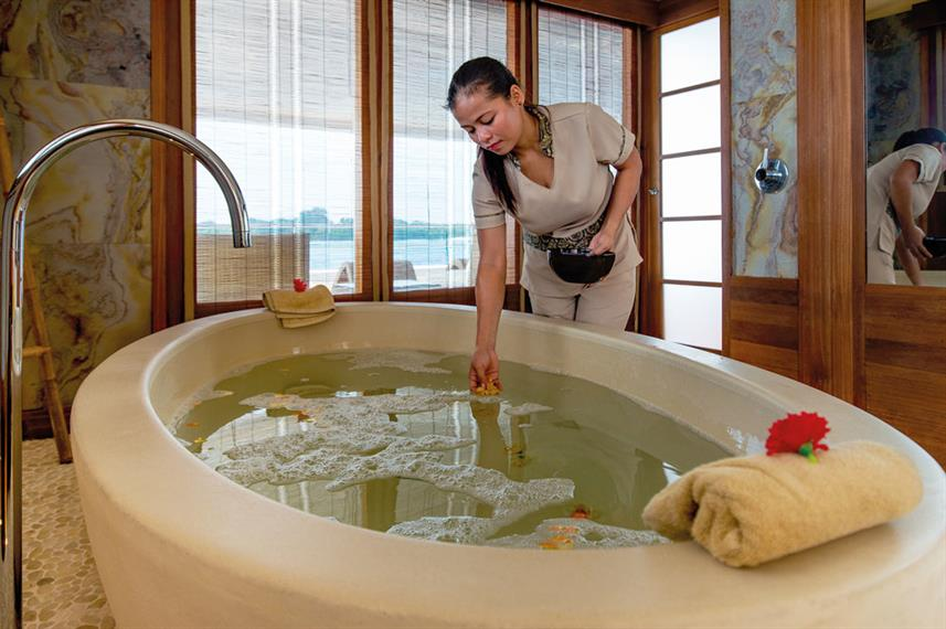 Spa Services - Scubaspa Ying