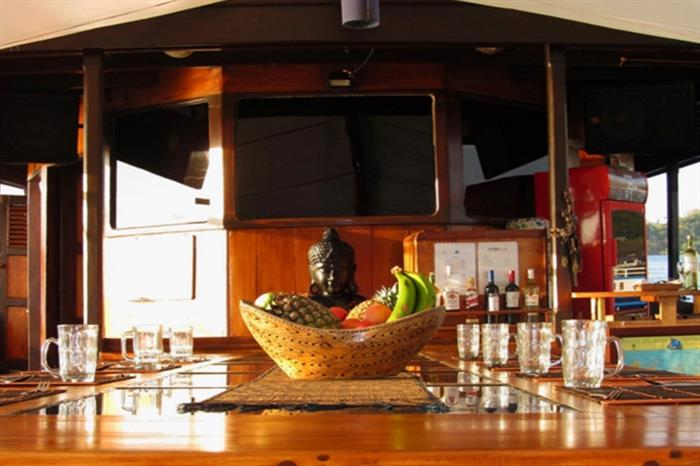 Enjoy a variety of meals onboard Moana Liveaboard