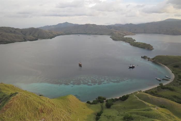 Stunning views in Indonesia with Moana