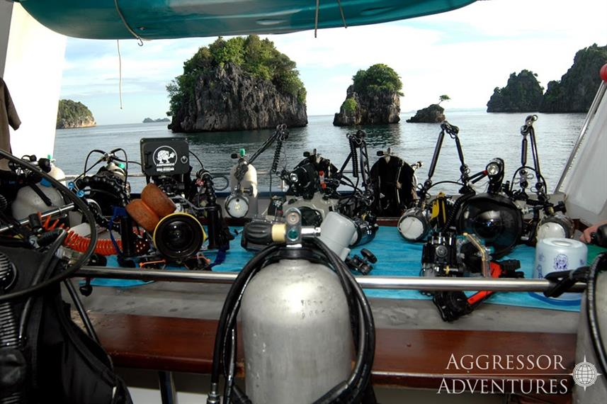 Camera Station - Raja Ampat Aggressor
