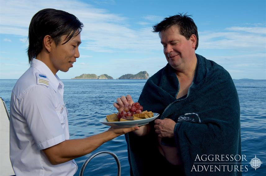 Food on board - Raja Ampat Aggressor
