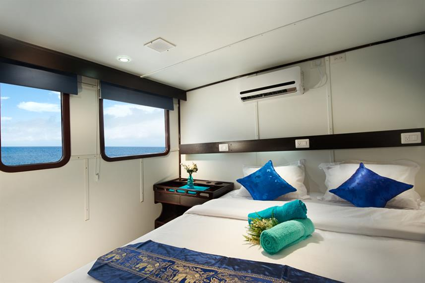 Upper Deck Cabin - Galapagos Master
