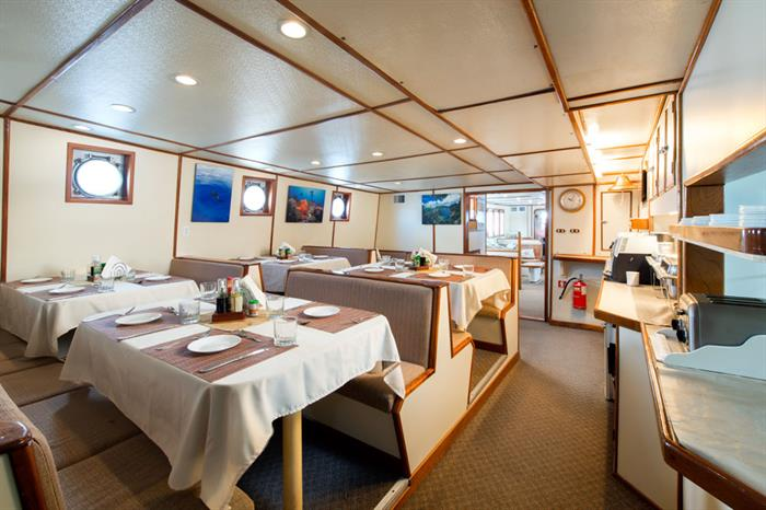Dining Room - Sea Hunter