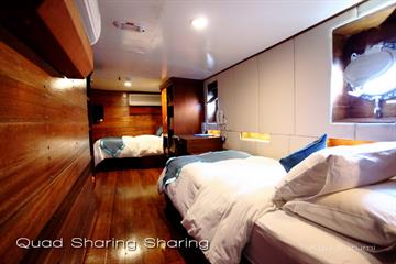 Solitude One Liveaboard Quad sharing cabin