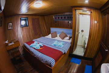 Lower Deck Double Cabins