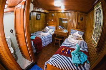 Upper Deck Twin Cabins
